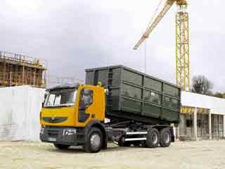 El Lander es un vehículo mixto, para asfalto y pequeños tramos en zona de obra.