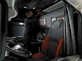 El Magnum fue pionero al ofrecer una cabina de piso llano.