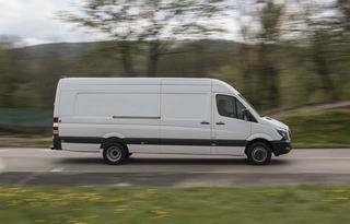 El Mercedes Benz Sprinter ahora también en versión de 5,5 toneladas.