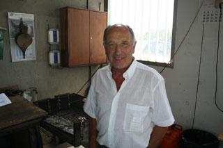 Joan Boixadera heredó el oficio de su padre.