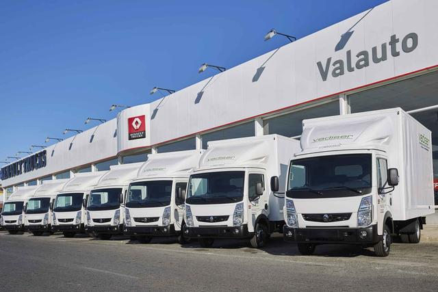 Vadiser adquiere 30 unidades renault maxity for Oficinas dhl valencia