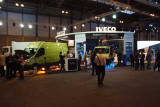 Iveco acudía al Salón del Automóvil Ecológico de Madrid con una completa oferta de vehículos ligeros y pesados