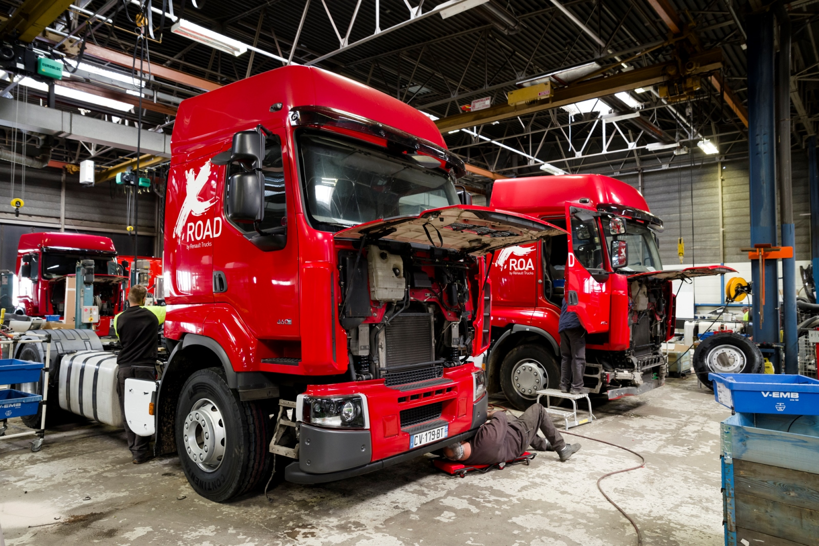 Used Trucks Factory Renault