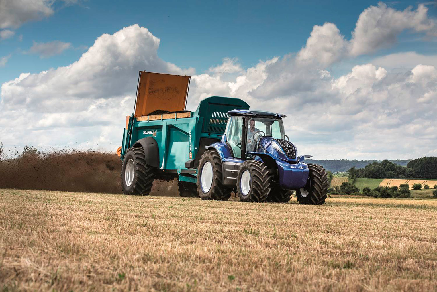 El prototipo de New Holland