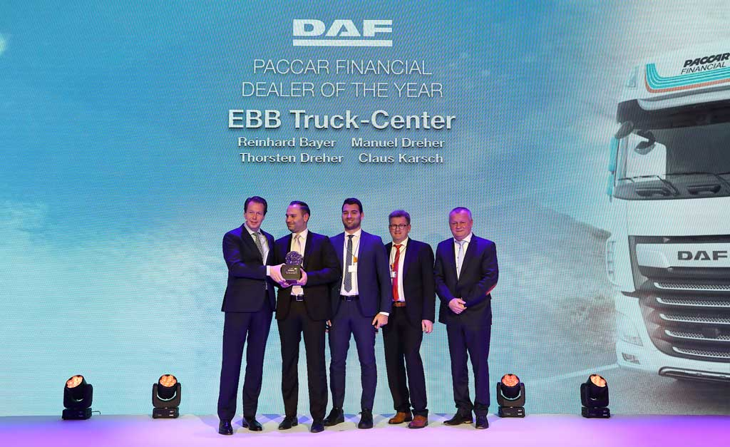 DAF International Dealers of the Year 2020