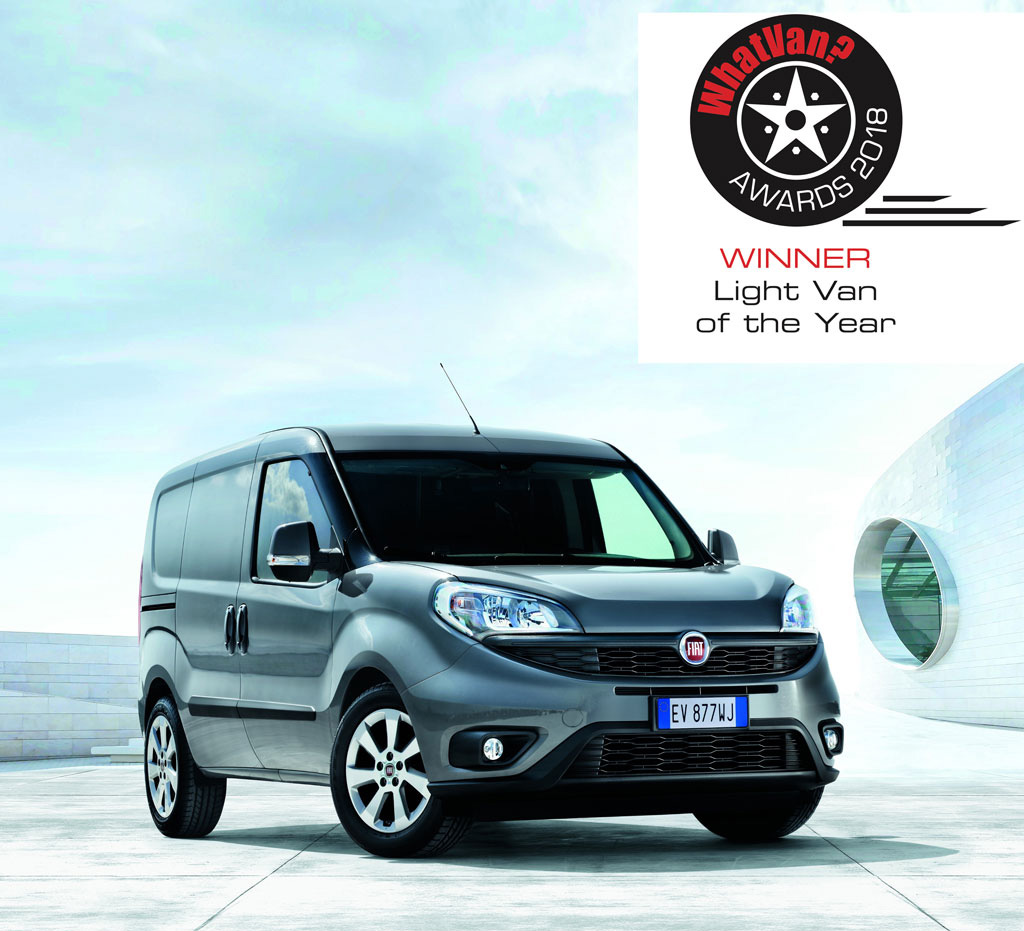 Doblò Cargo Light Van of the Year 2018