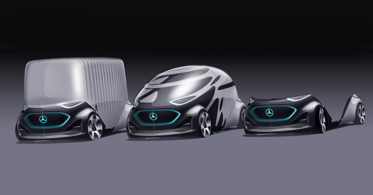 Mercedes-Benz Concept Vision URBANETIC