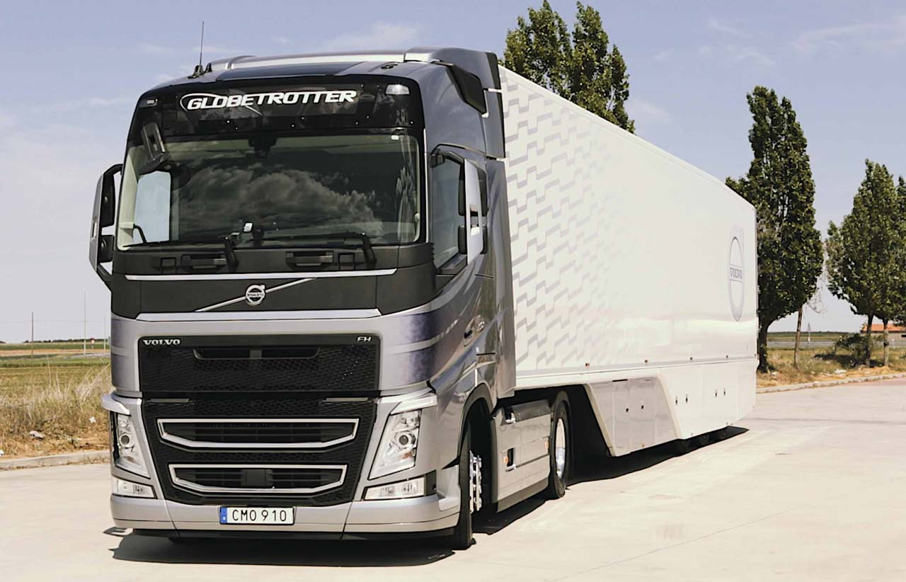 prueba consumo volvo fh 460 globetrotter euro 6. Black Bedroom Furniture Sets. Home Design Ideas