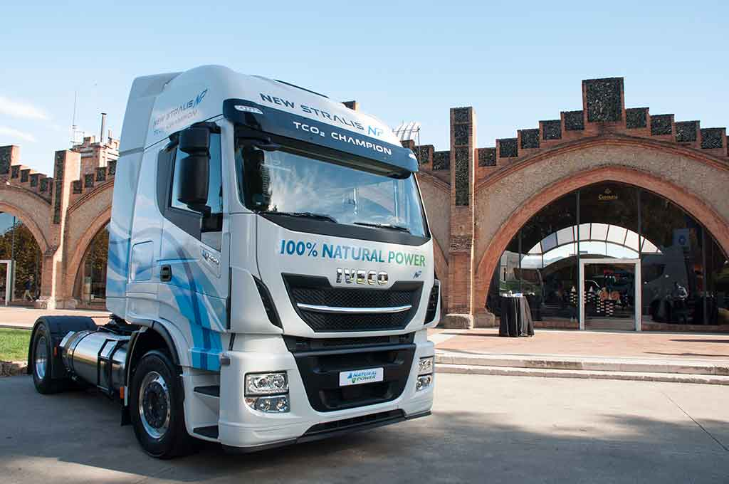 Iveco Barcelona gas natural