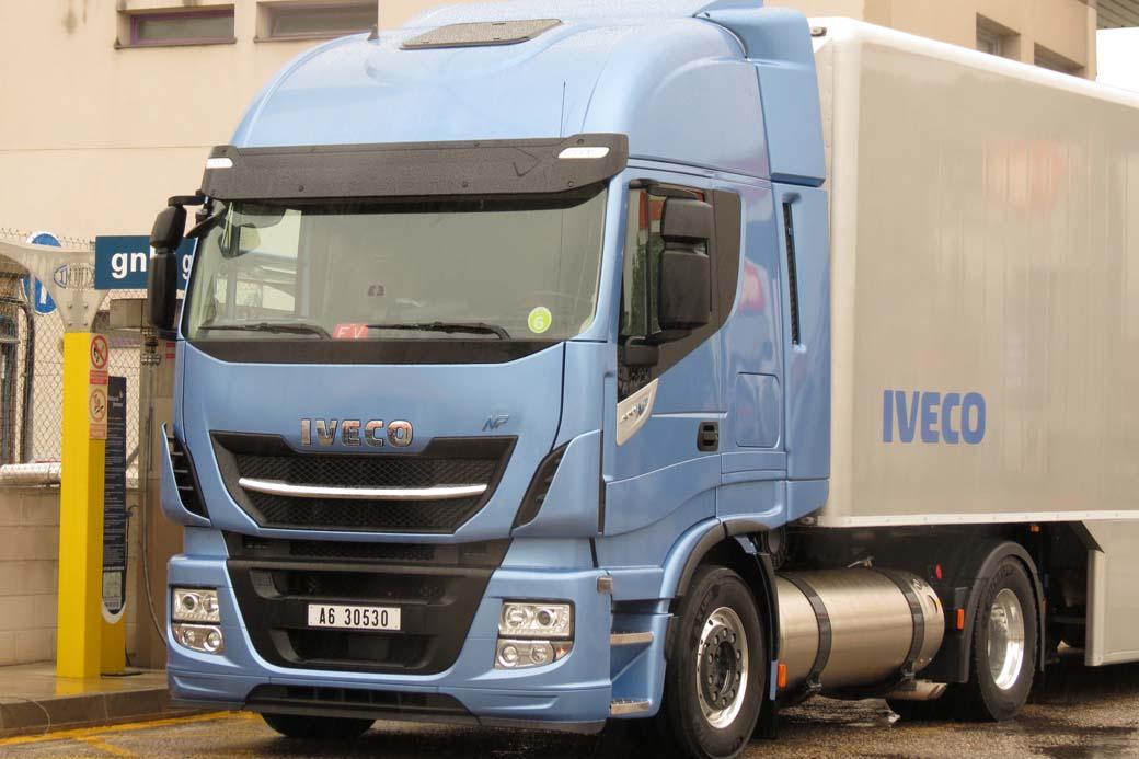 En los años venideros los camiones alimentados por GNL serán más comunes.