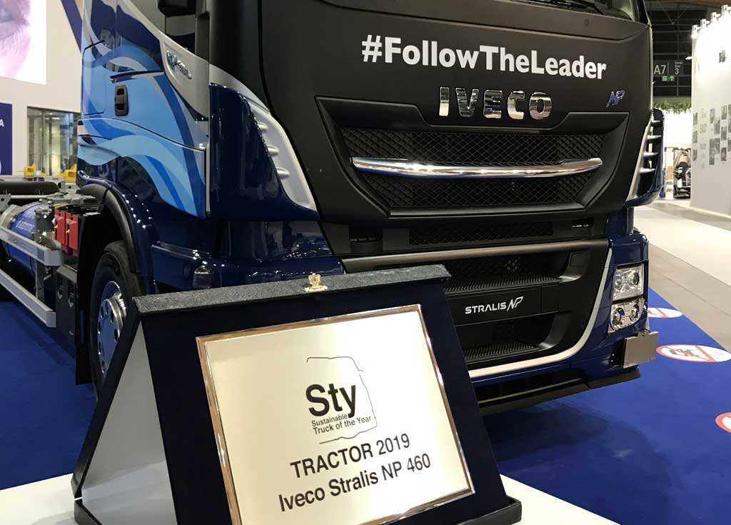 Premio Sustainable Truck of the Year 2019