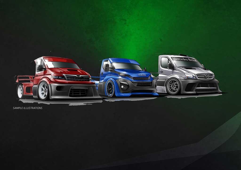 Nueva Serie De Carreras De Camiones Ligeros Para 2020 Encamion Com