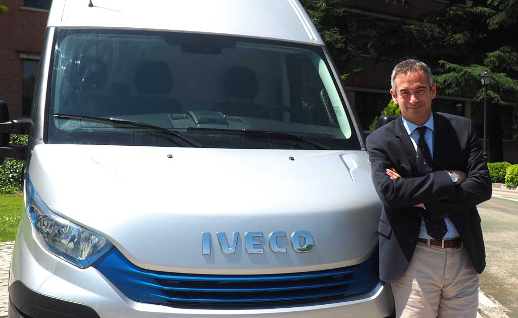 Ruggero Mughini, director de Iveco España y Portugal
