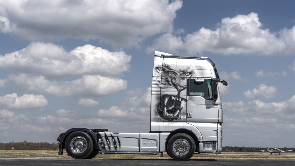MAN TGX The Lion, el león de 640 CV
