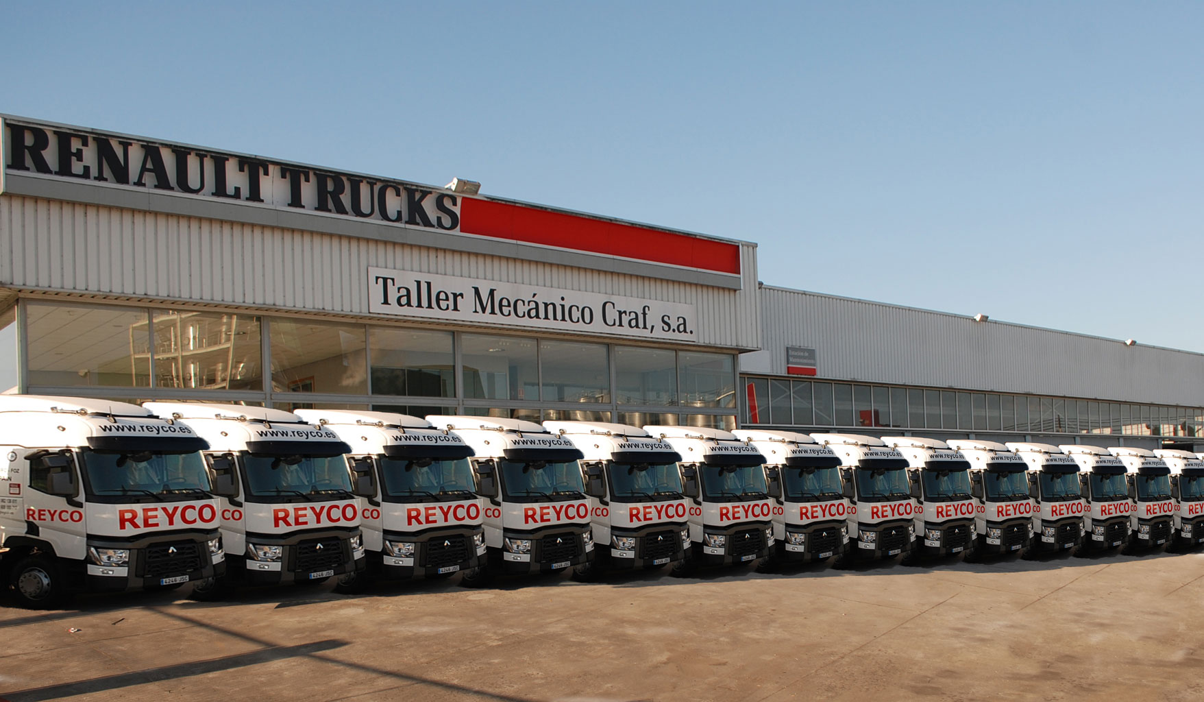 Reyco adquiere 20 Renault Trucks Gama T