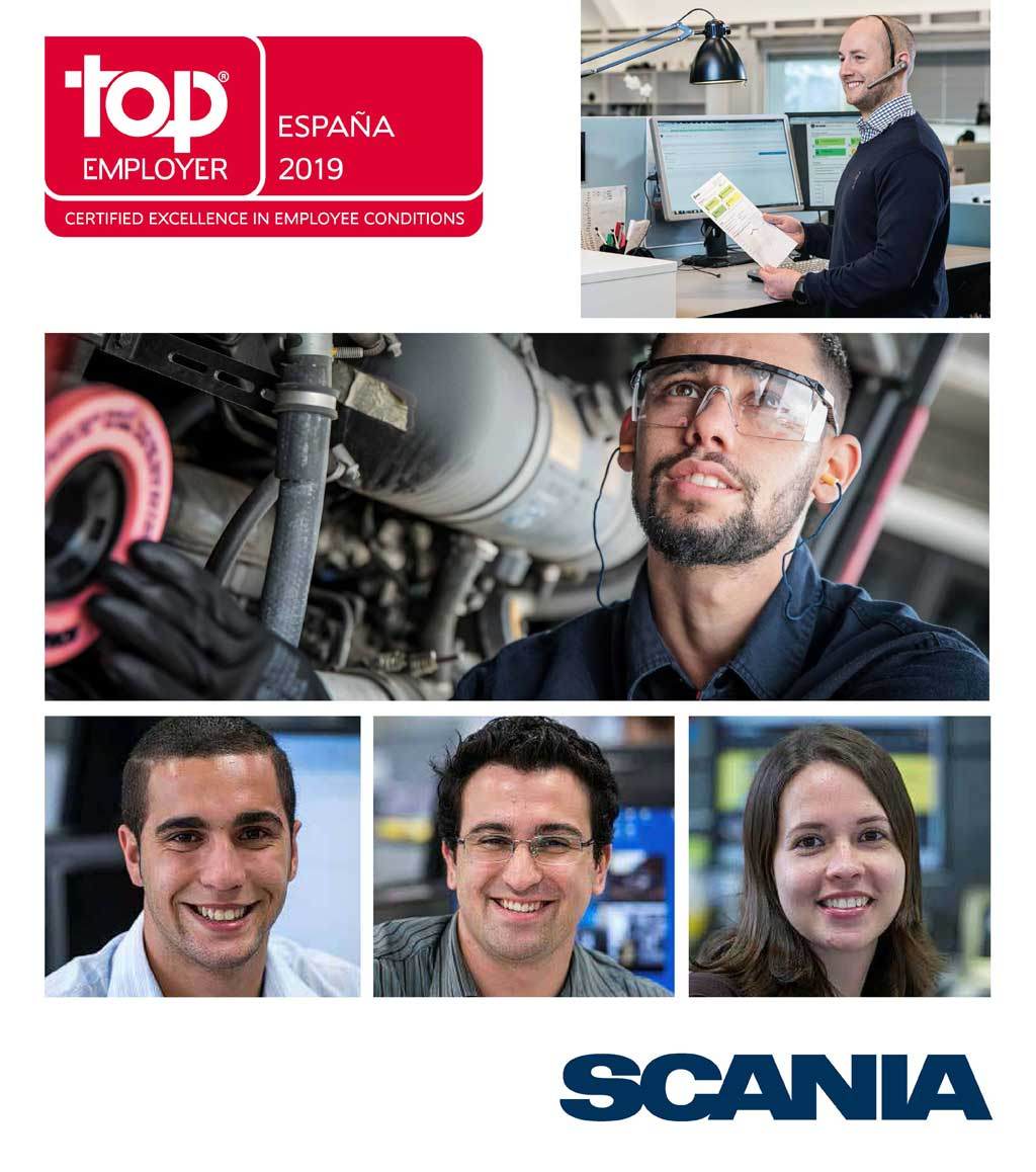 Scania, Top Employer