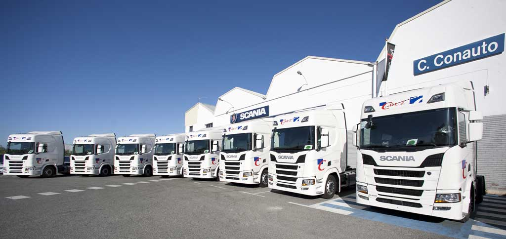 Transportes Cruz y Scania