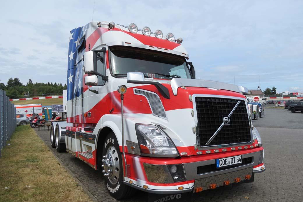 American Truck Volvo VNL en Nürburgring