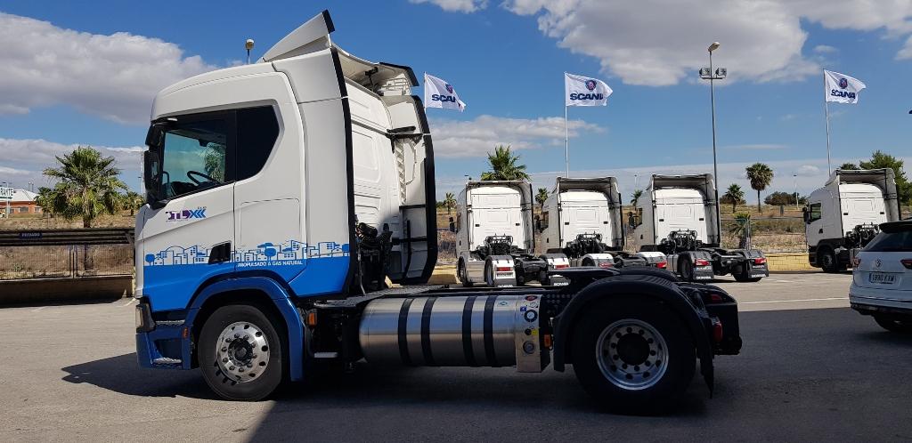 TLX incorpora nuevos vehículos Scania