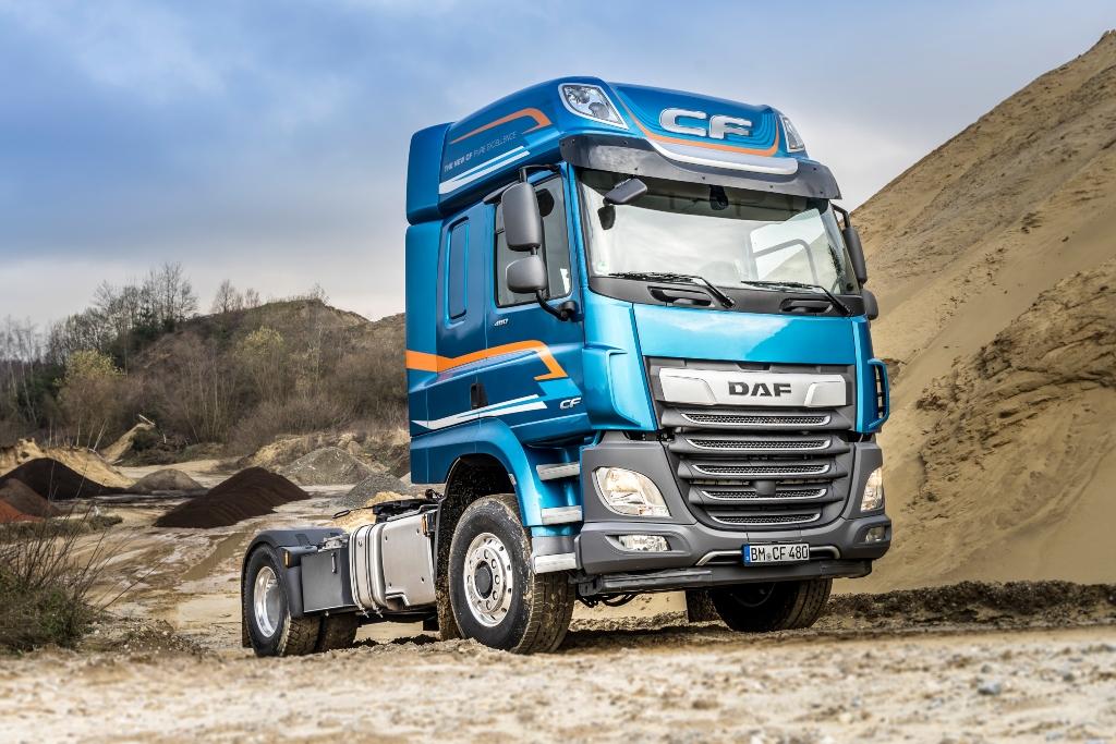 DAF disponible con tracción delantera