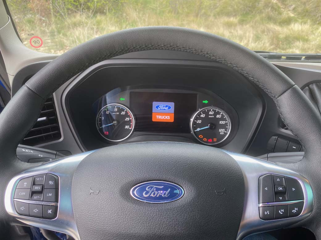 Volante multifunción del Ford F-MAX.