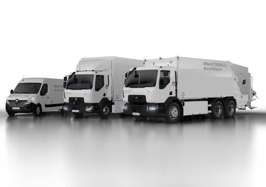 Gama Z.E. la electromovilidad según Renault Trucks.