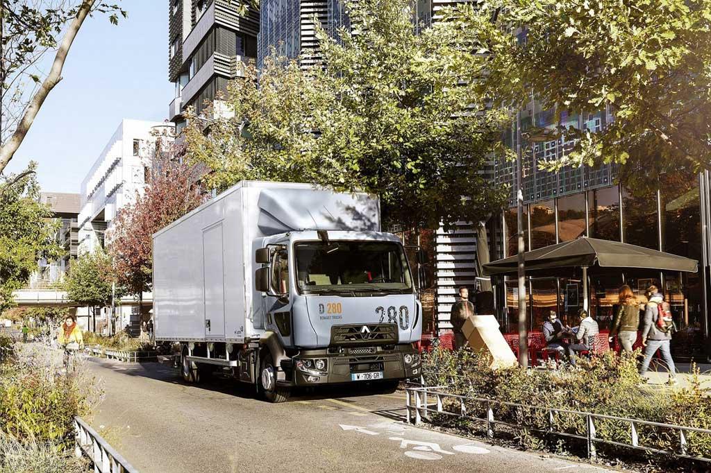 Renault Serie D para distribución urbana de talla media.