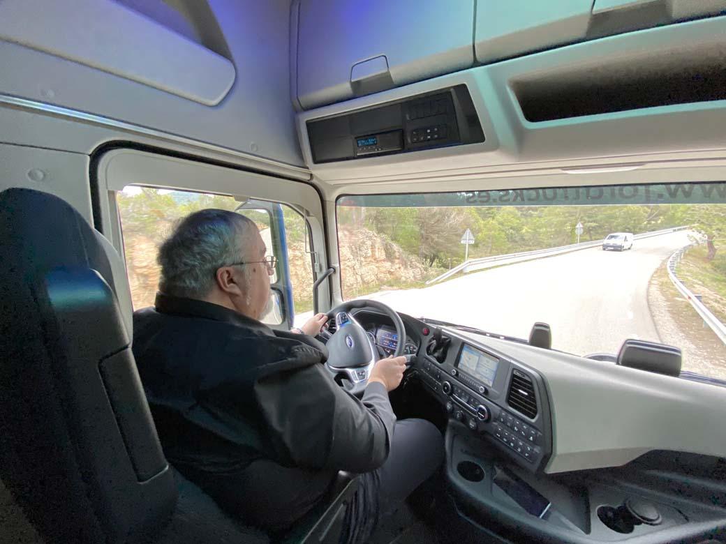 Recorrimos algo más de mil kilómetros al volante del Ford F-MAX.