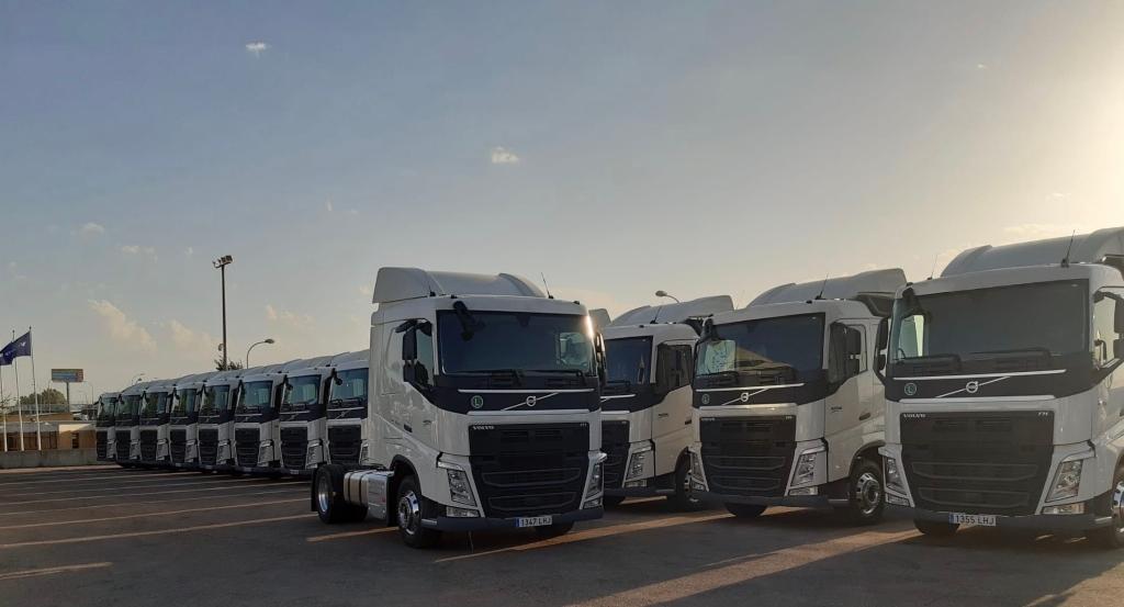 Nuevos camiones Volvo