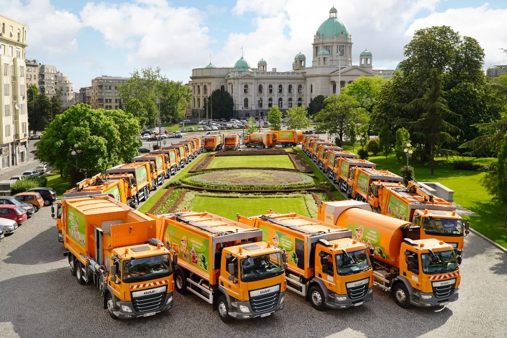 Entrega de DAF Trucks