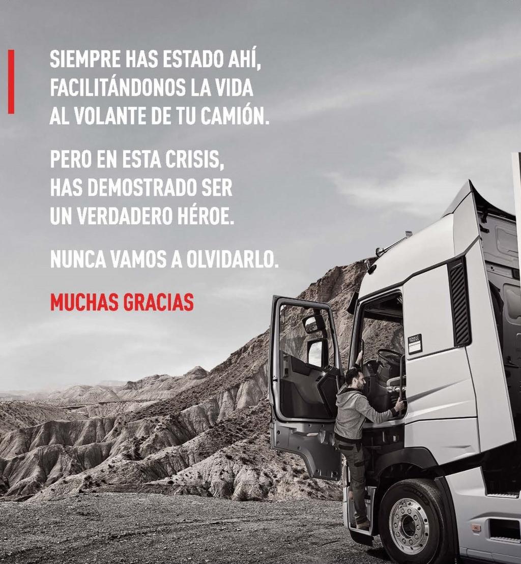 """""""El rincón del héroe"""" de Renault Trucks"""