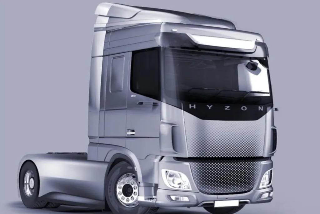 Camión de hidrógeno Hyzon