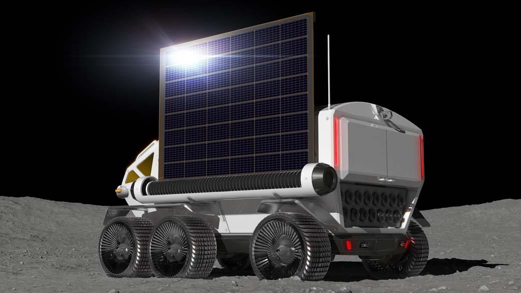 El Toyota Lunar Cruiser también podrá obtener electricidad de la energía solar gracias a una pantalla enrollable.