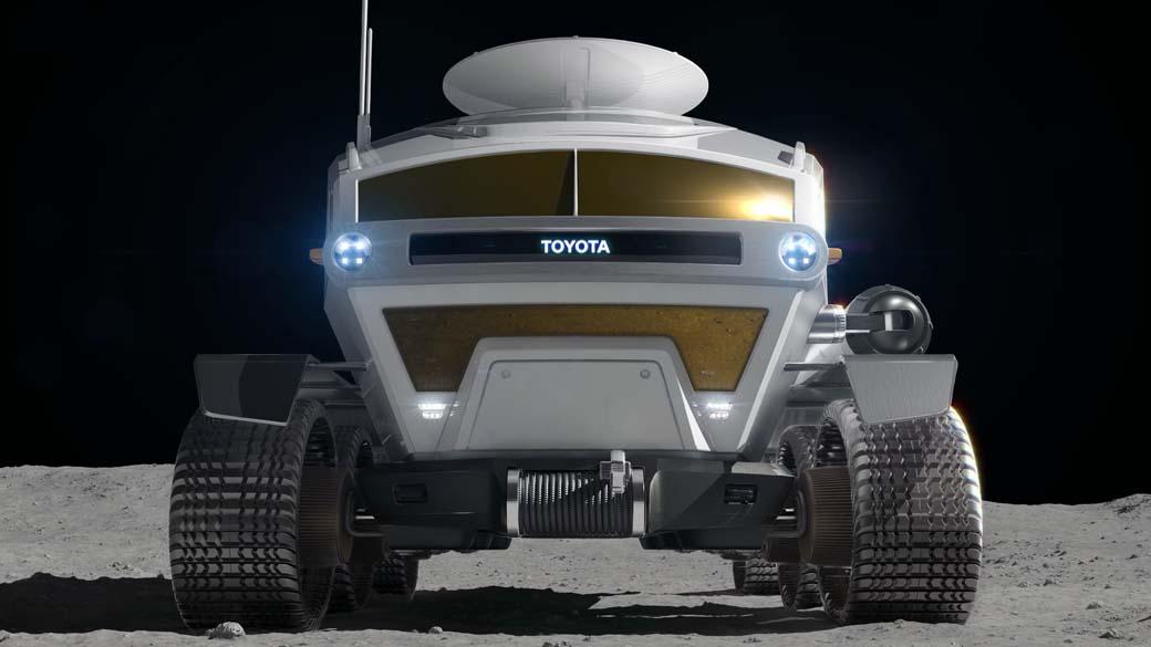 Toyota parece que logrará expandir su gama de vehículos todoterreno más allá de los límites del planeta Tierra.