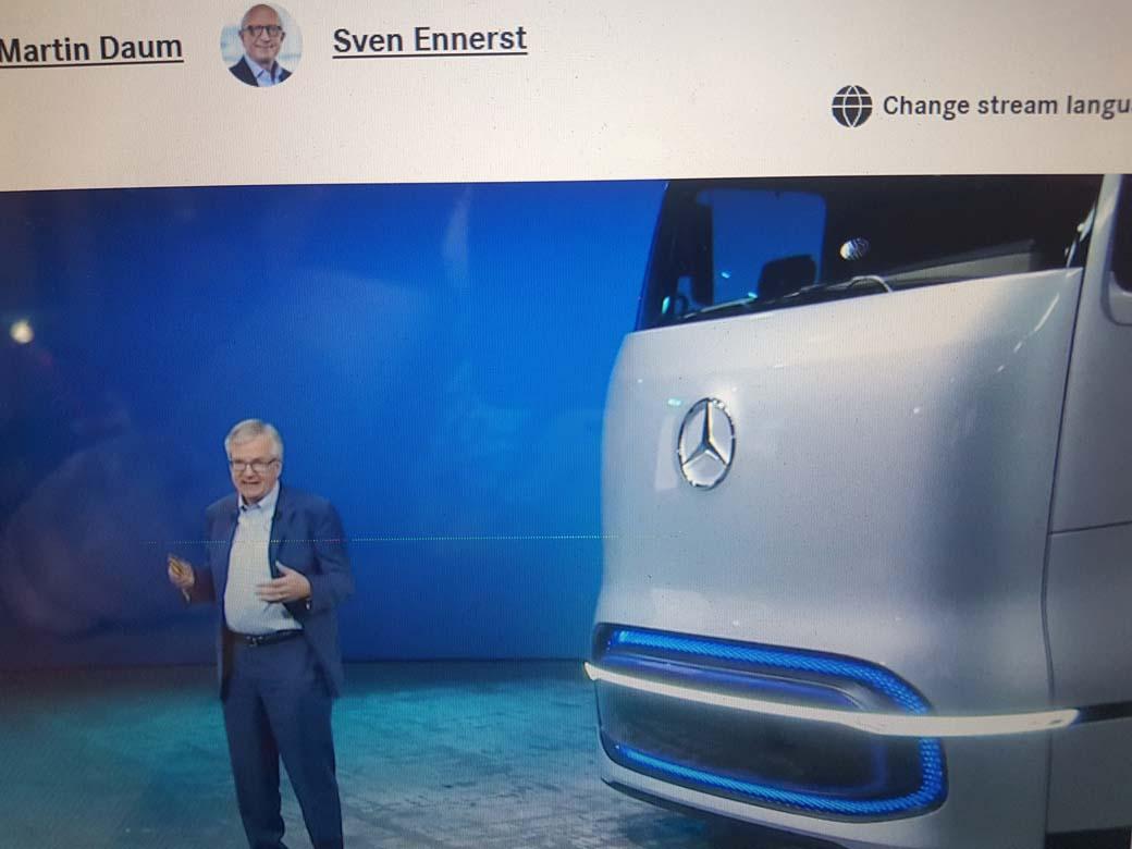 Martin Daum CEO de Daimler Trucks nos presenta el futuro camión a Hidrogeno de Mercedes Benz Trucks. (Future Hydrogen Truck Fuel Cell).