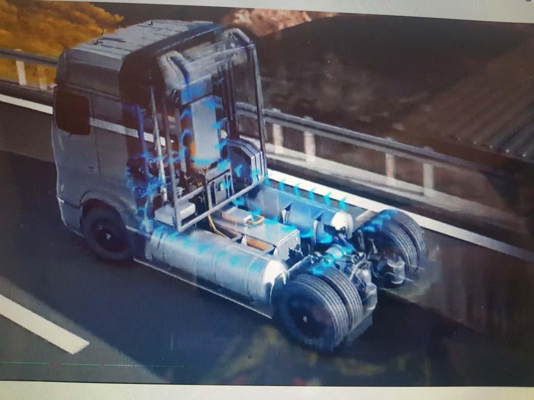 Daimler Trucks presenta su Hydrogen Truck que llegará a finales de la década.