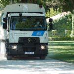 Renault Trucks presenta en España el primer camión de la gama D Wide Z.E. eléctrica cero emisiones.