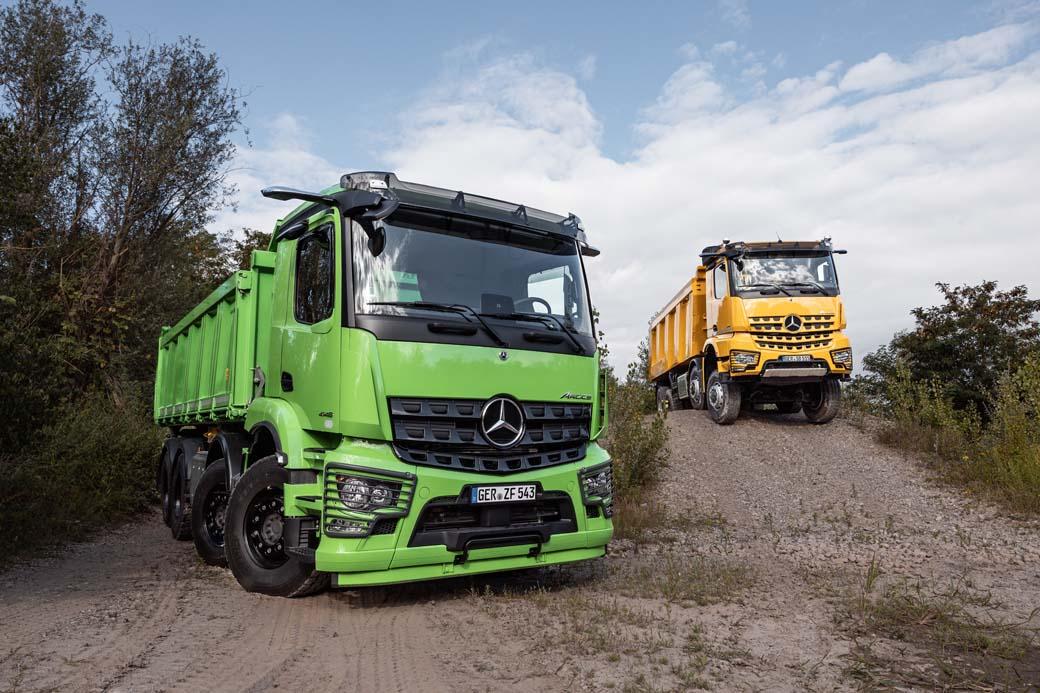 Novedades Mercedes Benz Trucks en sus Actros y Arocs.