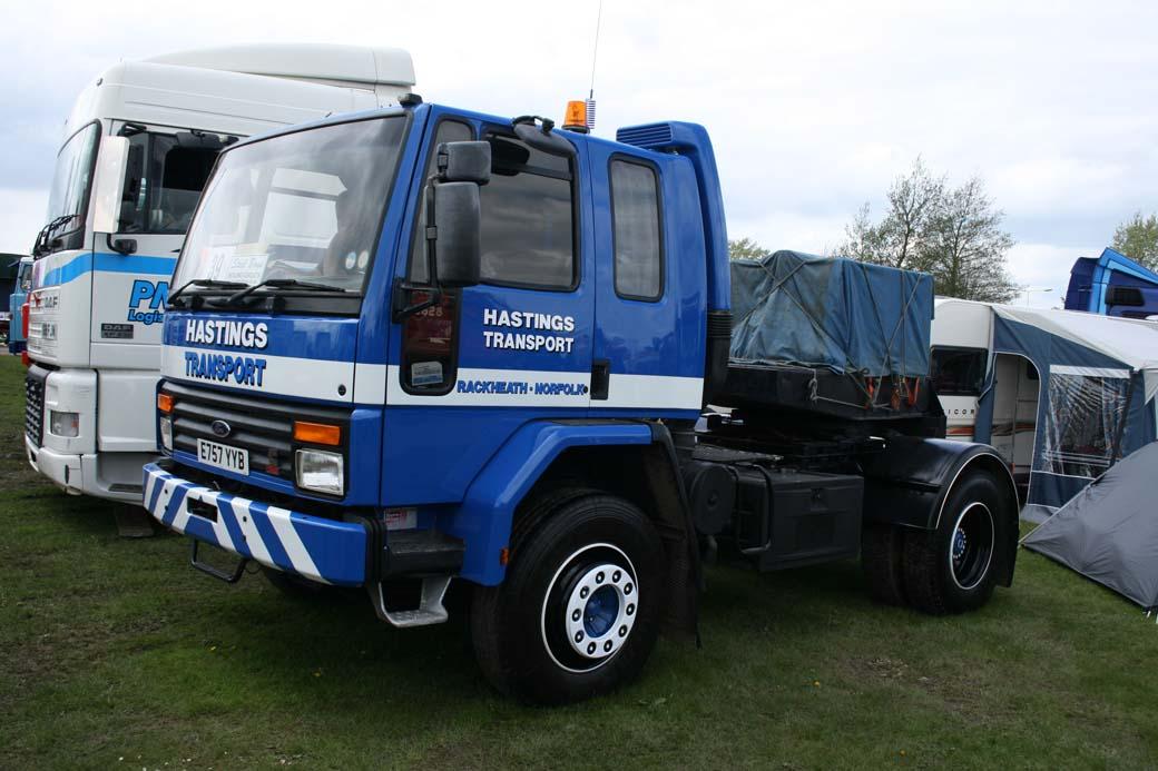 Entre los años 70 y 80 del siglo XX el Ford Cargo fue un modelo común en varios países europeos.