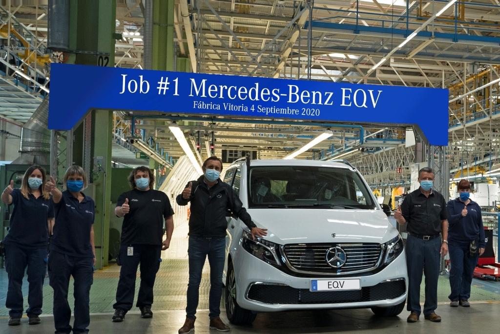 Primer EQV en la fábrica de Vitoria