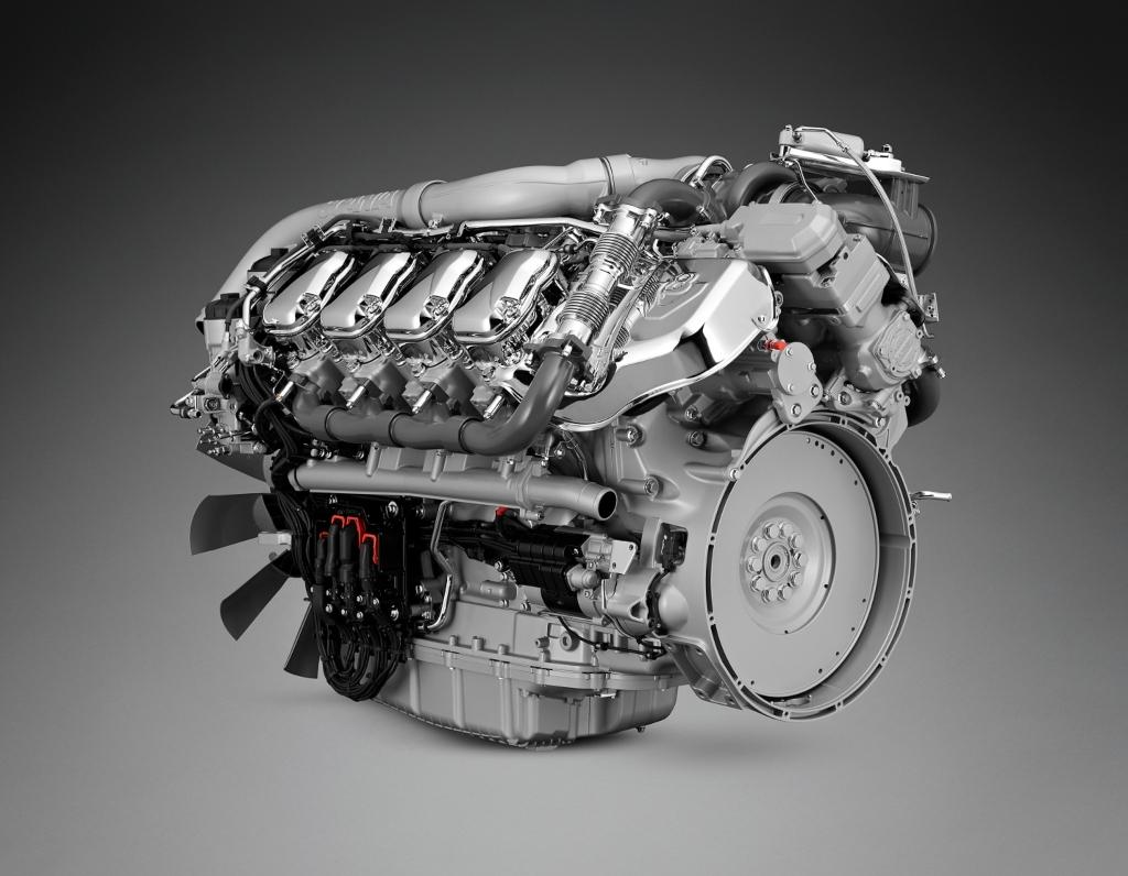 Nueva gama de motores V8