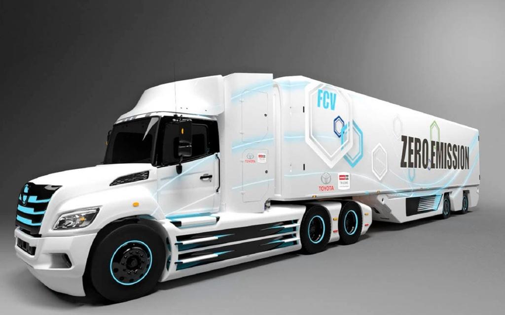 Camión eléctrico de Toyota e Hino