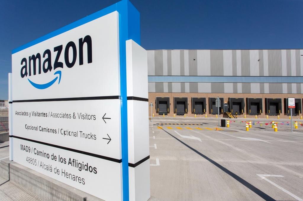 Nuevo centro logístico de Amazon
