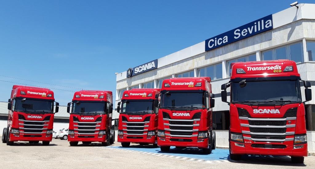 Entrega de Scania a Transursedis