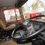 Puesto de conducción Scania 141 V8.