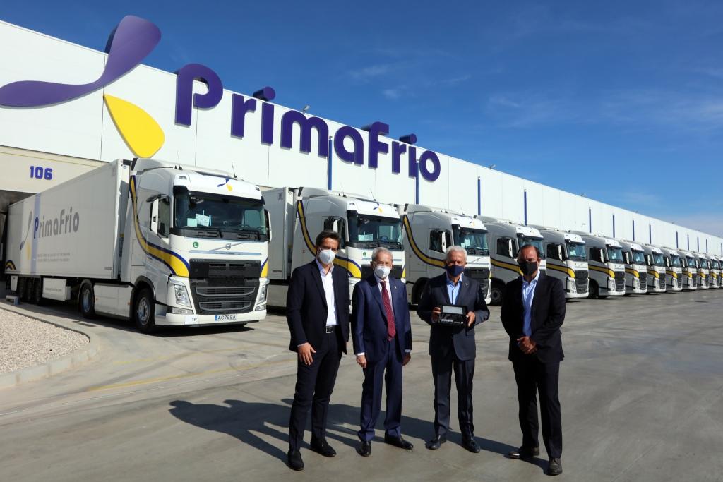Entrega de Volvo Trucks a Grupo Primafrio