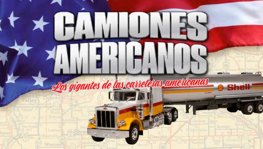 Altaya lanza una colección de camiones americanos