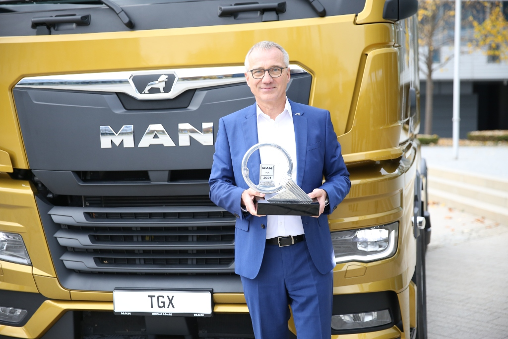 El TGX premiado como Truck of the Year