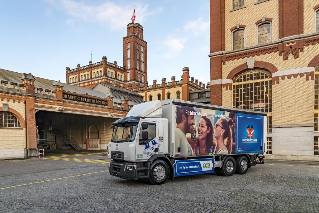 Renault Trucks y Carlsberg se unen
