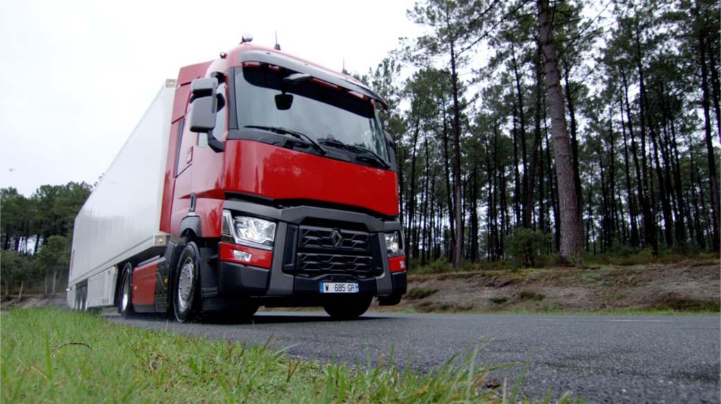 La serie T es el modelo pesado emblemático de Renault Trucks.
